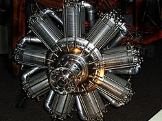 Radial Engine - Airplane
