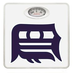 New White Dial Bathroom Weight Scale featuring Detroit Tigers MLB Team Logo ** Want additional info? Click on the image.