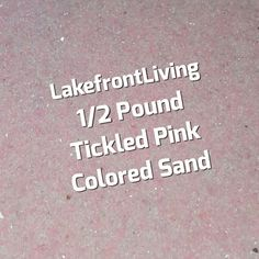 Items similar to Tickled Pink Colored Sand for Wedding Unity Sand - Pink Colored Sand for Craft Projects, Kids Play or Fairy Garden - Pound on Etsy Unity Sand, Colored Sand, Kids Playing, Indigo, Craft Projects, Lavender, Silver, Pink, Crafts