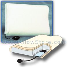 Inflatable Pillow With Memory Foam