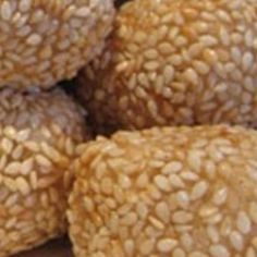 My daughter and I fell in love with these at our local Chinese Buffet place and I just had to search the internet to find a recipe. They take a bit of work but the outcome is simply amazing. They are little balls filled with delicious red bean paste and surrounded with sesame yumminess! We here in my house are addicted to them! Just a bit of info tho, they are much better served warm, they have a chewy goodness once they get too cold they lose a bit of their deliciousness.  *I FOUND THE…