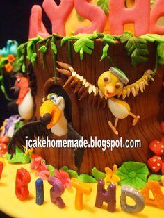 Jcakehomemade: Rio Movie birthday cake