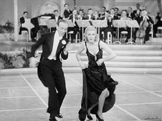 """nitratediva: """"Fred Astaire and Ginger Rogers in Roberta (1935). """""""