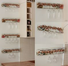 Corks as wine storage.how apt Diy Cans, Glass Holders, Wine Storage, Paint Chips, Recycled Crafts, Crafts To Make, Diy Furniture, Repurposed, New Homes