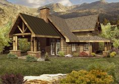 Lafayette - Log Homes, Cabins and Log Home Floor Plans - Wisconsin Log Homes