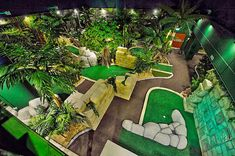 The Lost City Adventure Golf based in the Cornerhouse, Nottingham. Two 18 hole indoor adventure golf courses and tiki bar ideal for families, students, birthday parties, stag and hens and corporate events Indoor Miniature Golf, Indoor Mini Golf, Adventure Golf, Golf Card Game, Golf Handicap, Dubai Golf, Crazy Golf, Used Golf Clubs, Golf Club Grips