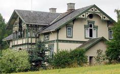 Norwegian Swiss House Swiss House, Swiss Chalet, Dream House Exterior, Nordic Style, Scandinavian Design, My Dream Home, Norway, Life Is Good, Beautiful Homes