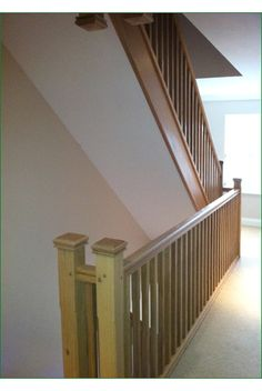 Bewley Staircase - this is a staircase comprising two closed-string flights in American white oak.