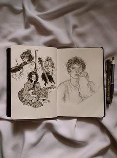 Dark Art Drawings, Art Drawings Sketches, Sketch Drawing, Arte Grunge, Arte Peculiar, Abstract Face Art, Art Diary, Arte Sketchbook, Sketchbook Inspiration