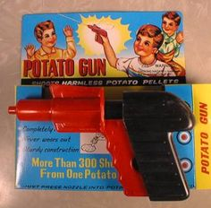 Potato gun, because what could possibly go wrong?