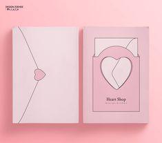 Packaging Design Inspiration, Graphic Design Inspiration, Book Cover Design, Book Design, Flyer Design, Branding Design, Leaflet Layout, Pastel Designs, Name Card Design