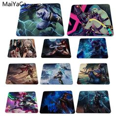 MaiYaCa Cool Game For League of Legends Custom Design Rectangle Gaming Computer Mouse pads Cool Computer Mouse, Gaming Computer, Digital Drawing Tablet, Pc Gaming Setup, Classic Toys, Fun Games, League Of Legends, Custom Design, Cool Stuff