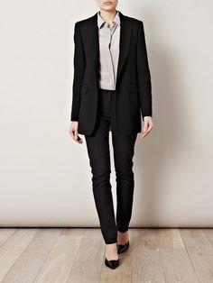 Classy women's suit.