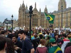 Apoio em Londres  #ideology  #proteste  #changeBrazil  #Brasil #revolution #2013 #VemPraRua