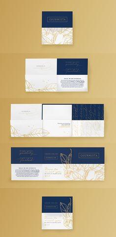 Gourmista - Brand Identity Art Direction Graphic Design Branding