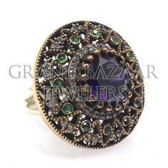 Classic Antique Turkish Ringshttp://grandbazaarjewelers.com/Home/Product/10216/Classic-Antique-Turkish-Rings