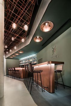 DIA – Dittel Architekten is responsible for developing the restaurant's design concept, the name Eduard's, its corporate design, and also Restaurant Floor Plan, Restaurant Seating, Restaurant Concept, Restaurant Bar, Lounge Design, Cafe Design, Floor Design, Design Design, Design Ideas