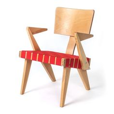 Gus Modern Spanner Chair Originally created in 1950 by Russell Spanner