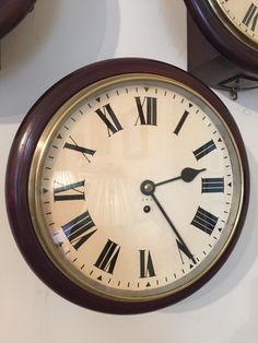 gpo 7 day fusee wall clock circa