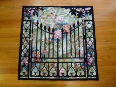 Garden Gate, a gift to Looda & Gary.