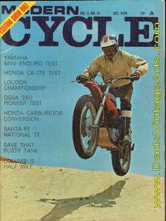 1970 Ossa Pioneer 250 Road Test / Specs