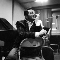 Dean Martin, part of the Rat Pack. He, along with Frank Sinatra, loved Sammy Davis Jr and made him part of their gang. he's alright by me.