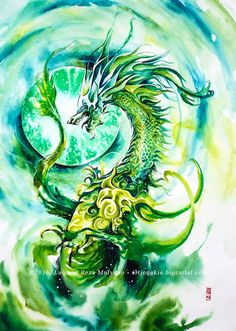 Image of Emerald Dragon