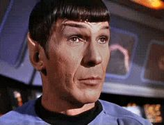 SPOCK, the one and only Leonard Nemoy.