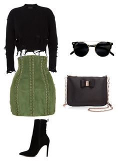 """""""Stylish"""" by kayla-pretty on Polyvore featuring Balmain, adidas Originals, ALDO and Ted Baker"""