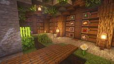 A simple storage room : Minecraft Minecraft House Plans, Minecraft Farm, Easy Minecraft Houses, Minecraft House Tutorials, Minecraft Modern, Minecraft Castle, Minecraft House Designs, Minecraft Decorations, Minecraft Blueprints