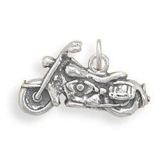 Oxidized Trike Motorcycle Charm from Bonita Moda Boutique