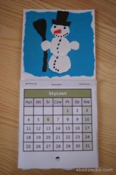 kalendarz do wydrukowania styczeń