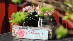 Elsker at pynte i haven :) ENDELIG ved at være sommer