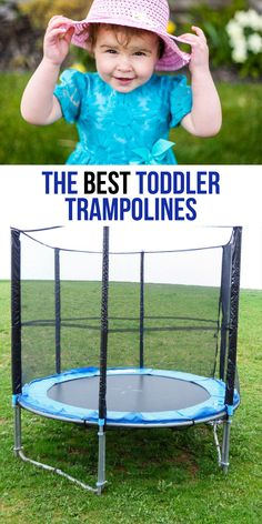 The best toddler trampoline is going to be one that suits your little one's needs. This guide offers the top toddler trampoline and mini trampolines Spring Free Trampoline, Fun Trampoline Games, Small Trampoline, Trampoline Reviews, Toddler Trampoline, Outdoor Trampoline, Trampoline Workout, Indoor Bounce House