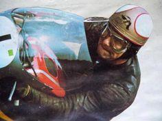 Mike the Bike Motorcycle Racers, Racing Motorcycles, Vintage Motorcycles, Retro Motorcycle, Classic Motorcycle, Grand Prix, Motogp, Course Moto, Bike Engine