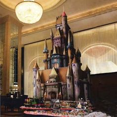 This European-inspired castle was created by Executive Pastry Chef Jean-Francios H. of the historic Westin St. Francis hotel in San Francisco, CA. | Photo: Berkson | thisoldhouse.com