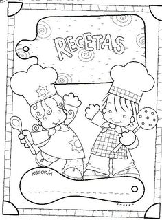 Los duendes y hadas de Ludi: Taller de Cocina Adult Coloring, Coloring Books, Coloring Pages, Teaching Time, Teaching Spanish, Cookbook Cover Design, Baby Club, Dramatic Play, Disney Cars