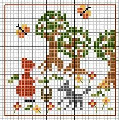 92 Best Cross-Stitch (Trees) images in 2018 | Cross stitch