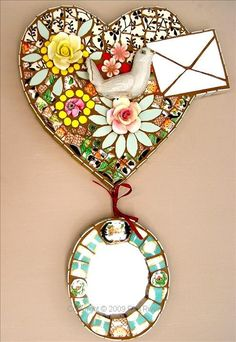 #mosaic, Love Letter, Rah Rivers  http://www.rahrivers.com  omgosh she is so talented!! <3