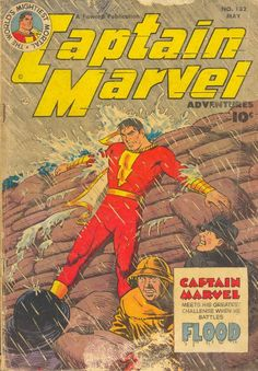 Captain Marvel Adventures #132, May 1952, cover by C.C. Beck