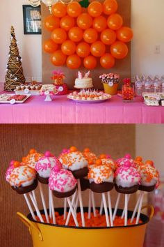 """~ """"A sweet shop birthday party theme""""...."""