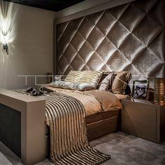 Bedden   Tofliving.nl Fitted Bedroom Furniture, Fitted Bedrooms, Bed Furniture, Bed Headboard Design, Headboards For Beds, Beautiful Interior Design, Beautiful Interiors, Room Decor Bedroom, Master Bedroom