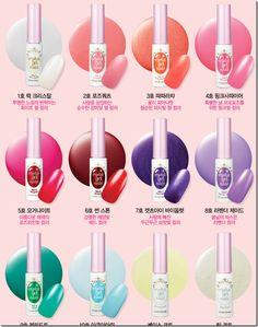 Etude House Crystal Gel Nails    http://hope-inablog.com/etude-house/etude-house-releases-complete-gel-nail-polish-system-uv-lamp/