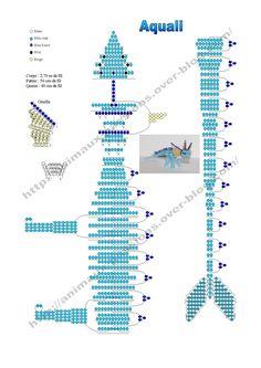 Smokie graph's Smokie graph's Pony Bead Crafts, Seed Bead Crafts, Beaded Crafts, Beaded Ornaments, Pony Bead Patterns, Beading Patterns Free, Beaded Jewelry Patterns, Pony Bead Animals, Beaded Animals