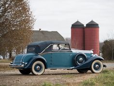 1933 Packard Eight Cabriolet by Graber