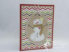 Snow Day, Stampin'UP!, jardin de papier, étampes, Noël