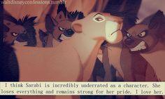 Sarabi from the Lion King. My idol! Always strong for my pride! Disney Nerd, Disney Girls, Disney Love, Disney Magic, Disney And Dreamworks, Disney Pixar, Walt Disney, Disney Characters, The Lion King
