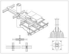 Steel Structure Details V6 – CAD Design   Free CAD Blocks,Drawings,Details