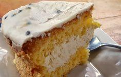 Sweet Treats - Passionfruit Sponge Cake