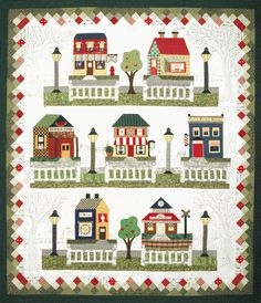 Lots of cute block of the month houses  http://quiltcompany.stores.yahoo.net/mainstreet1.html